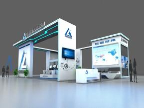 中国铝业展览模型
