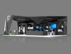 黑格科技展台模型