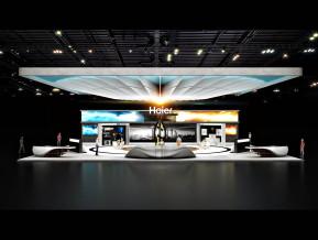 海尔国外展览模型