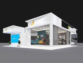 携住科技展览模型
