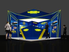 EWE展台模型