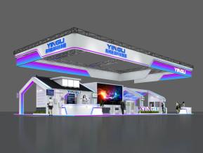 英利能源展览模型
