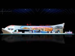 合川展览模型