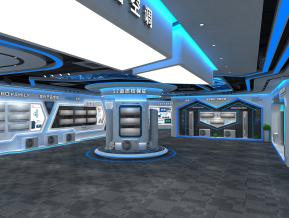美博空调展厅