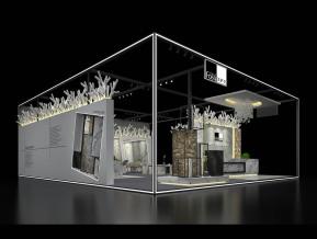 法萨石展览模型