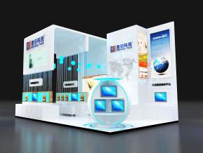 数衍科技展览模型