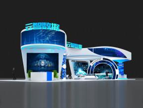 云智数据展览模型
