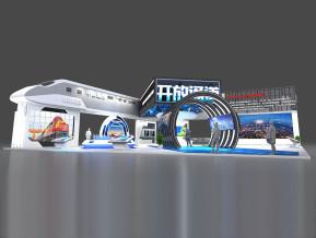 开放通道展览模型