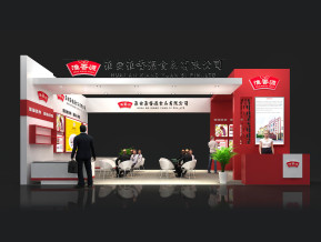 淮香源展览模型