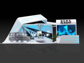 雷科防务展览模型