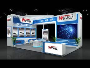 WUWEI无畏展台模型