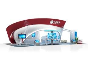 中信海直展览模型