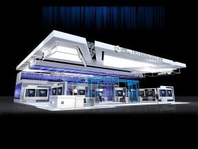 眼控科技展览模型