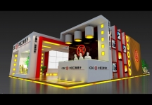 工商银行展览模型图片