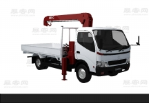 货车3D模型