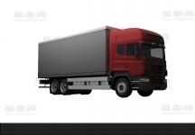 貨車3D模型