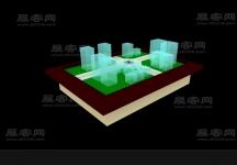 沙盤3D模型