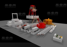 石油展机械模型
