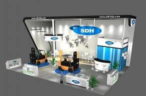 SDH展览模型