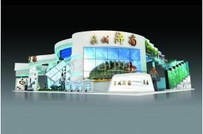 济南展台模型