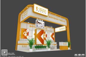 湖南考斯特 电子展模型 展览模型 展览图片