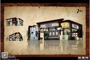 涇渭茯茶展覽模型圖片
