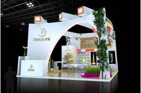 杭州雅妍展览模型图片