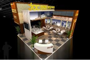 嘉凯城展览展示模型图片