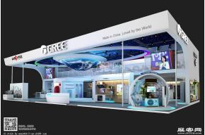 格力双层展览模型图片
