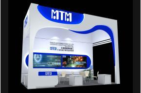 莫拖曼机器人展台模型图片