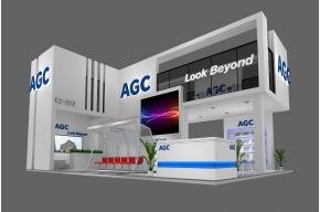 AGC展览模型图片