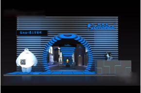 罗曼斯展览模型