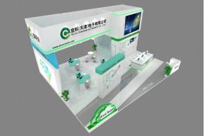 宜科电子展览模型