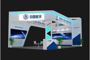 中国航天展览模型