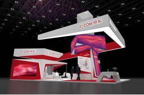京东电子商务平台博览会展览展台