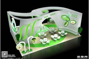 根源生物展览展示展台设计