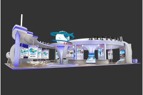 龍泉物流3D模型