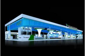 國藥集團展臺3D模型
