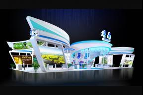 潼南渝洽會展臺3D模型
