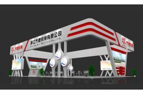 浙江齐鲤机械展台模型