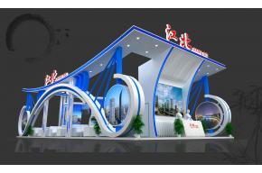 江北展览模型