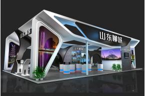 山東聊城旅游文化展3D模型