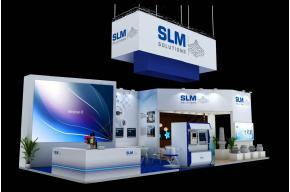 SLM展臺模型效果圖