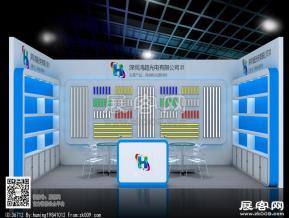 鸿超光电展览模型