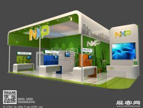 NXP展台模型免费下载