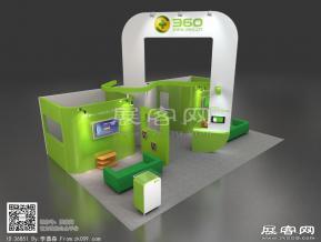 360展台模型