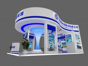 银星科技展览模型图片