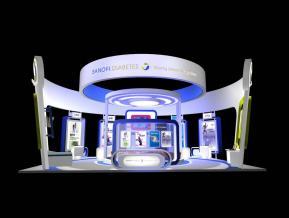 SANOFI醫療展設計方案