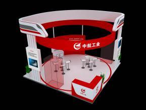 中航展台模型图片