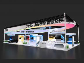 互聯網+智能車聯軌道交通展3D模型
